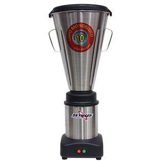 Liquidificador Comercial Inox, Copo Monobloco Inox - LS-10MB-N Skymsen