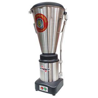 Liquidificador Comercial Inox, Copo Monobloco Inox E Tampa Automática, Heavy Duty - LS-08MB-HD - Skymsen