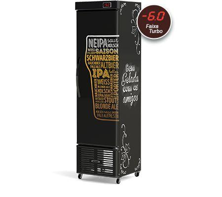 Cervejeira Refrigerada Vertical Slim CRV-250-E Conservex