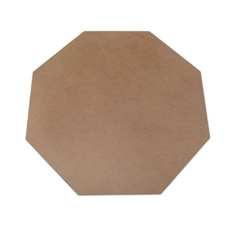 Sousplat Hexagonal em mdf - 32x32 cm - Modelo Liso