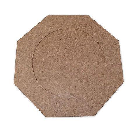 Sousplat Hexagonal em mdf - 35x35 cm - Modelo Sobreposto