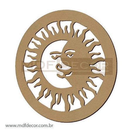 Mand-011 - Mandala Sol e Lua