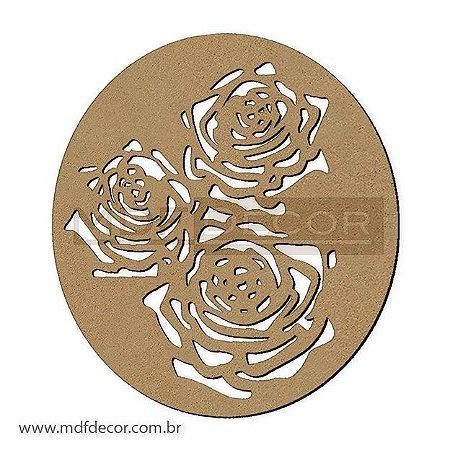 Mand-017 - Mandala Três Rosas