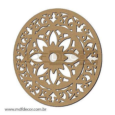 Mand-041 - Mandala Mdf Best Floral