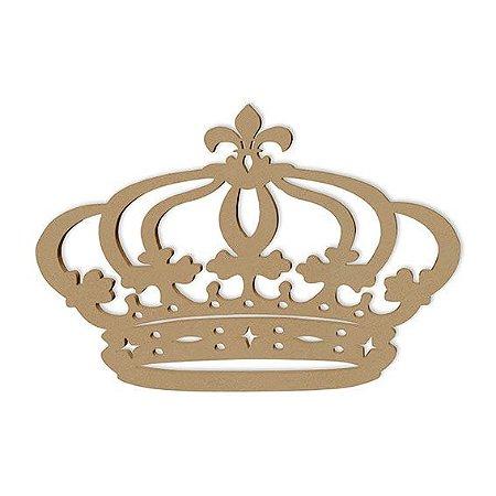 Coroa De Princesa Mdf 70 Cm Decoração De Festas Provençal