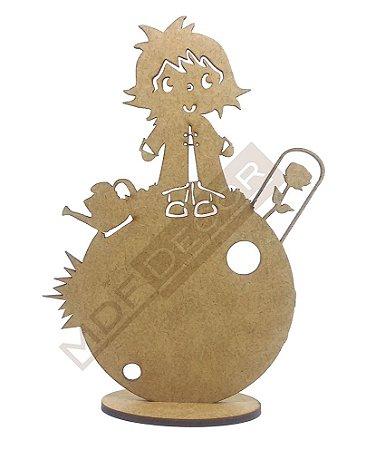 Pequeno Príncipe em Mdf para Decoração - 15 Cm
