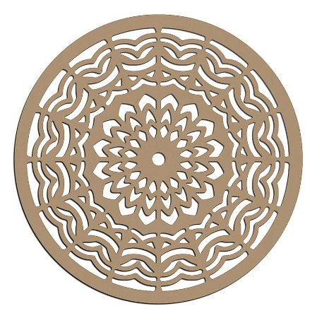 Mandala de Mdf Energy - Mand-046