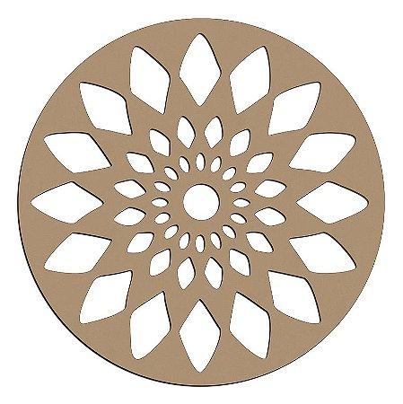 Mandala de Mdf Cristal - Mand-053