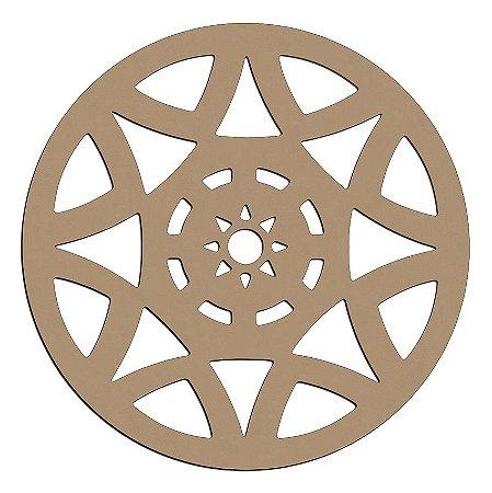 Mandala de Mdf Star - Mand-054