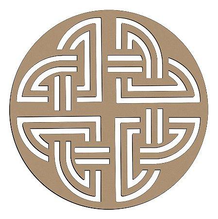 Mandala de Mdf Nó Perene Celta - Mand-055