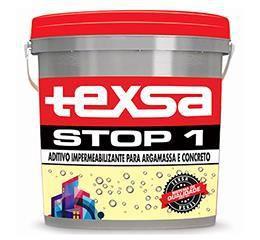 Stop 1 14kg - Aditivo impermeabilizante para argamassa e concreto