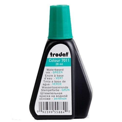 Tinta pra Carimbo Automático Trodat 7011 Verde