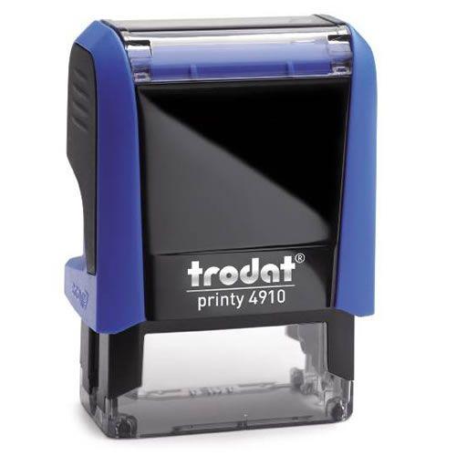 Carimbo Personalizado Trodat Printy 4910 P4 - Azul