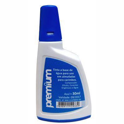 Tinta para Carimbo Auto-Entintado Premium - Azul