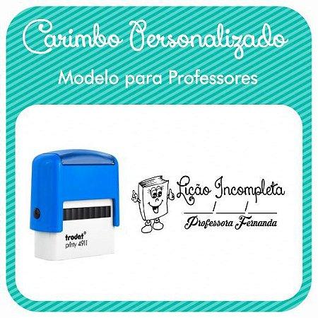 Carimbo Personalizado para Professores - Modelo PRF-02