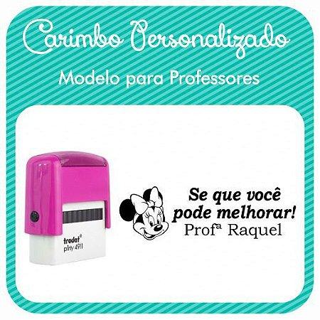 Carimbo Personalizado para Professores - Modelo PRF-04