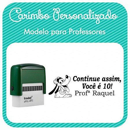 Carimbo Personalizado para Professores - Modelo PRF-05