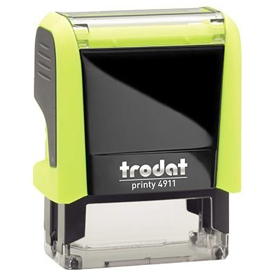 Carimbo Personalizado Trodat Printy 4911 P4 - Amarelo Neon