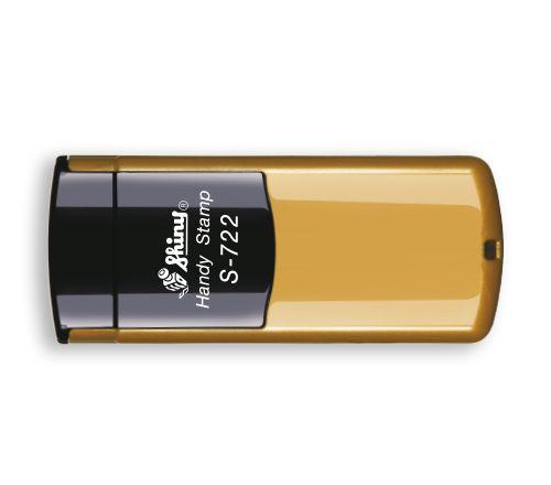 Carimbo de Bolso Shiny Handy Stamp - Dourado