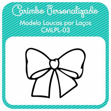 Carimbo de Madeira Personalizado Modelo CMPLP-03