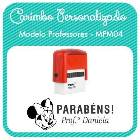 Carimbo Personalizado Modelo Professores - MPM04