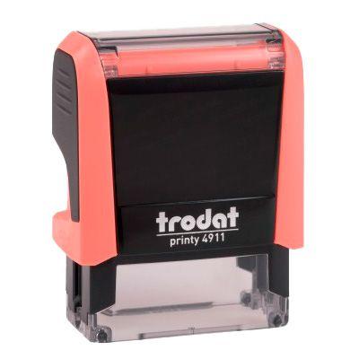 Carimbo Personalizado Trodat Printy 4911 P4 - Coral