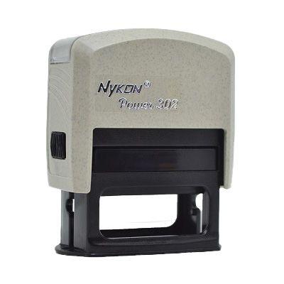 Carimbo Automático Nykon Black 302 - Reciclado