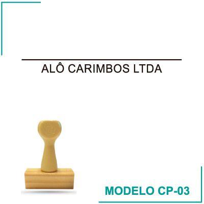 Carimbo de Assinatura - CP-03