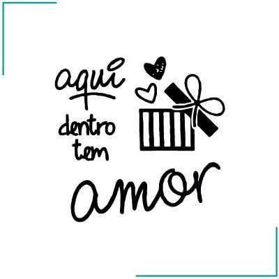 Carimbo Contém Amor - CA-04
