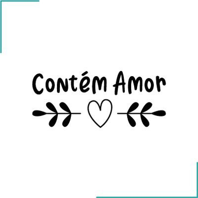 Carimbo Contém Amor - CA-08