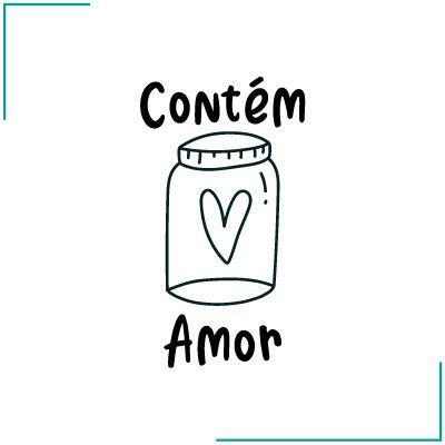 Carimbo Contém Amor - CA-10