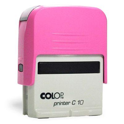 Carimbo Colop Pinter 10 - Rosa