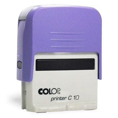 Carimbo Colop Printer 10 - Lilás