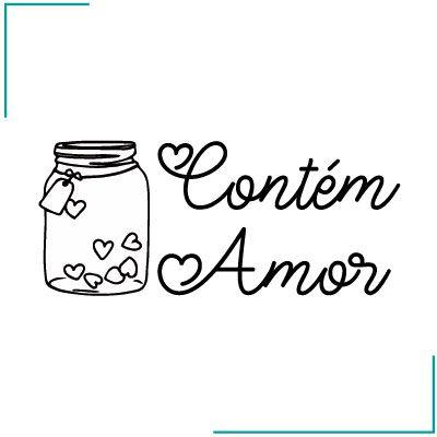 Carimbo Contém Amor - CA-12