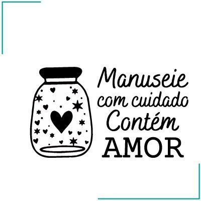 Carimbo Contém Amor - CA-15