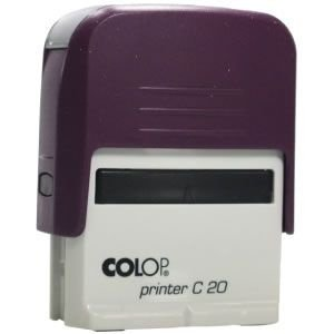 Carimbo Personalizado Colop Printer 20 - Violeta