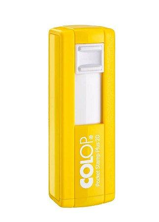 Carimbo de Bolso Colop Pocket Plus - Amarelo