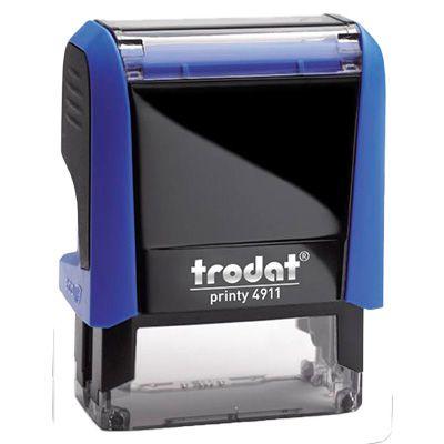 Carimbo Personalizado Trodat Printy 4911 P4 - Azul