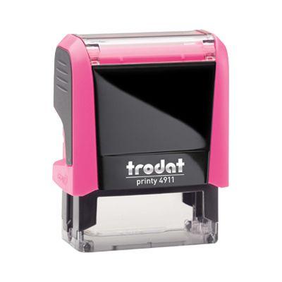 Carimbo Personalizado Trodat Printy 4911 P4 - Rosa Neon