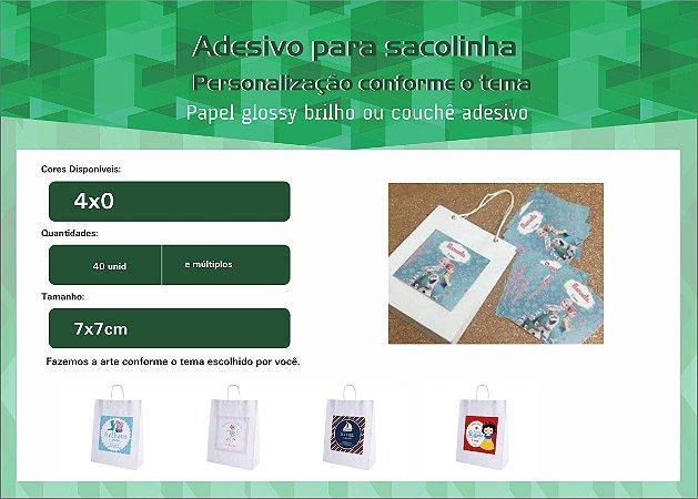 Adesivo p/ Sacolinha