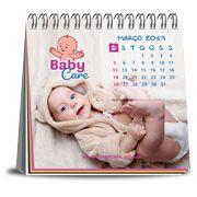 Foto calendário de mesa