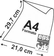 Impressão digital A4 mono