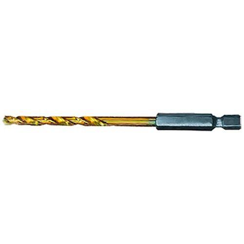 Broca de aço rápido enc. 1/4 TIN 7,0MM