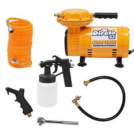 Compressor Ar Direto 2,3Pcm G3 Chiaperini - Bivolt
