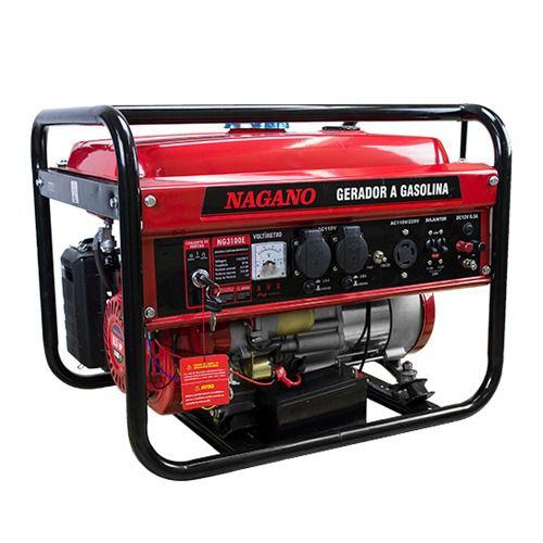 Gerador De Energia A Gasolina. 3 Kva. Monofásico