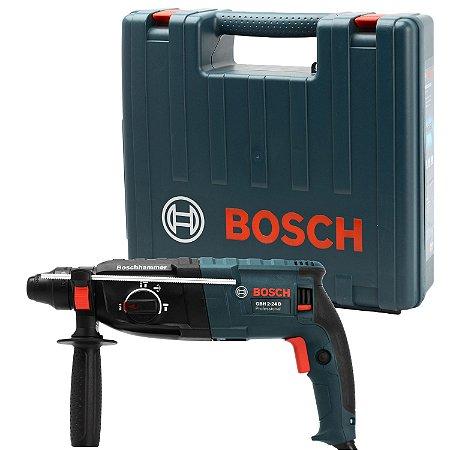 Martelete Perfurador Rompedor 800W Sds Plus Gbh2-24D Bosch - 220V