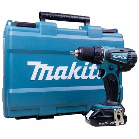 Furadeira Parafusadeira 1/2 DDF456RHE 2 Baterias 18V Carregador 127V - Makita
