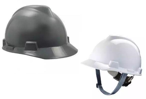 14f767624906f Capacete de Segurança VGard Com Jugular - MSA - Piatã Tem Bauru