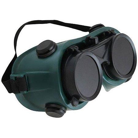 Óculos Lente Dupla Redonda Incolor e Escuro Articulável - Western ... d10afe6a83