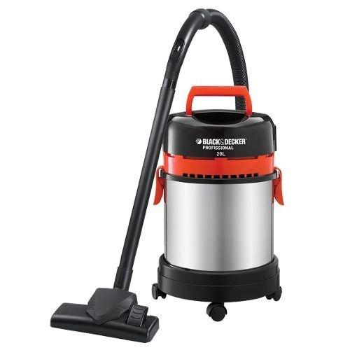 Aspirador Pó E Água 20 Litros Tanque Inox AP4850 - Black Decker
